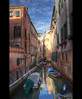 Reflections. (Alex takes photos.) Tags: blue venice italy color colour building water colors buildings boats canal high colours shine dynamic tweak range hdr shimmer realistic cs3 scky venzio