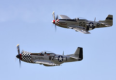 Mustang (Bernie Condon) Tags: plane vintage flying fighter aircraft aviation military formation ww2 preserved mustang bomber warplane p51 northamerican usaaf