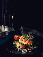 ryebread_with_avocado_and_eggs (S.M.Holm) Tags: food bread avocado egg