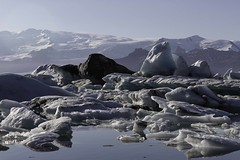 Le monde de la glace (the world of ice) (Larch) Tags: lagune lagoon glacier ice glace couleur color forme shape montagne mountain glaciaire reflet reflection lac lake cendre ash volcanicash cendrevolcanique jokulsarlon islande iceland iceberg inexplore