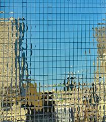 Golden Reflections (BKHagar *Kim*) Tags: sky abstract reflection building architecture gold golden neworleans nola mardigras bkhagar