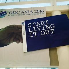 Start Living It Out #passiton #discipleship #GDCAsia2016 (Daniel Y. Go) Tags: square squareformat clarendon iphoneography instagramapp uploaded:by=instagram foursquare:venue=51983bfe498ec814d6c817b4