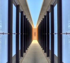 Modern architecture (Reayworld) Tags: architecturemodernmodernarchitecturebuildingsglasssymmetrysymmetricalarchitecturedetailmodernarchitecturesimplereayworldiphoneiphoneographyperspectivediminishingperspectiveurbanurbanphotographystreetphotography