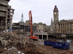 Chamberlain Square, Birmingham (Disused_and_abandoned) Tags: john birmingham library central demolition brutalist madin