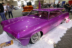 1965 chevy 1st place Radical Custom Wagon (bballchico) Tags: chevrolet custom impala stationwagon 1965 kustom awardwinner grandnationalroadstershow richievalles gnrs2016 1stplaceradicalcustomwagon