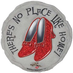 Wizard of Oz No Place Like Home Dorothy Ruby Slippers Stepping Stone 9 (bestbirdhouseusa) Tags: wordpress ifttt
