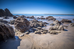 Little Corona Del Mar on the rocks-1 (gearupbaby!) Tags: ocean longexposure beach sony wide newportbeach 12mm hdr coronadelmar vistapoint samyang a6000 ilce6000