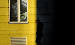 out of the dark (Zlatko Vickovic) Tags: street city shadow urban color yellow serbia streetphotography lightandshadow novisad vojvodina srbija streetcolor zlatkovickovicphotography