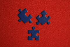 Puzzle (lorenzhome) Tags: blue red macro puzzle mondays vibrant minimalism