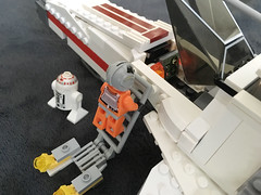 IMG_1269 (lee_a_t) Tags: starwars fighter lego xwing spaceship ewing rebels starfighter darkempire legoxwing legostarfighter legoewing