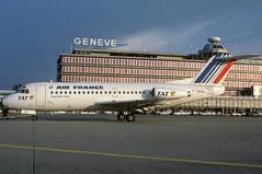 F-GDUU (Air France - TAT) (Steelhead 2010) Tags: tat f28 airfrance fokker freg fgduu f282000