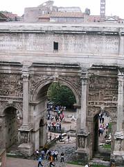Rome 522 (Xeraphin) Tags: italy rome archaeology ancient arch roman forum latin travertine archeology inscription geta triumphal caracalla severus coffered tabularium parthian septimius victories