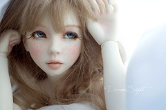 Why are you so perfect! >.< (DreamSight) Tags: classic glass doll slim ns cig mohair bjd resin custom abjd atelier msd narae bimong