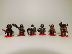 (Nilbog Bricks) Tags: lego lotr fantasy goblin troll minifig custom hobbit orc minifigures brickarms brickforge customcrazy brickwarriors