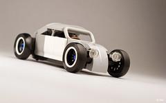 Salty Bug _02 (_Tiler) Tags: car vw race volkswagen lego hotrod vehicle ratrod volksrod
