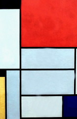 IMG_5899. Piet Mondrian. 1872-1944; Paris. Tableau 1. 1921. Cologne. Muse Ludwig. (jean louis mazieres) Tags: museum germany painting deutschland cologne kln muse museo allemagne peintures peintres pietmondrian ludwigmuseum museludwig