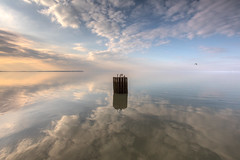 Whitstable without (stocks photography.) Tags: sea reflection beach photography coast seaside photographer whitstable michaelmarsh whitstablephotos canon5dsr whitstableimages