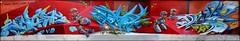 2Rode x Lazoo x Peeta x Raphe (HEC) (Chrixcel) Tags: streetart paris france graffiti tag hiphop graff lazoo fresque hec arturbain peeta raphe batsche 2rode tworode hautencouleur