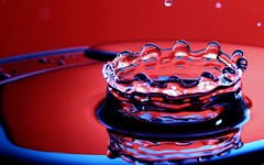 the edge of the crown (Luis Eduardo ) Tags: macro water drip droplet nonsense luismosquera