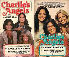 Charlie's Angels #4 & #5 (54mge) Tags: jaclynsmith katejackson tvtiein farrahfawcettmajors