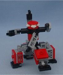 DV-8 (Mantis.King) Tags: lego walker scifi futuristic mecha wargames mech moc multiped microscale tripletchallenge legomecha mechaton mfz mf0 mobileframezero legogaming orphanbuild