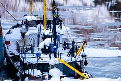 Boat (Dmitry_Pimenov) Tags: old travel blue sea snow water beautiful composition boat spring mood ship russia outdoor awesome fujifilm desolate fujinon kamchatka камчатка fujifilmxt1 дмитрийпименов