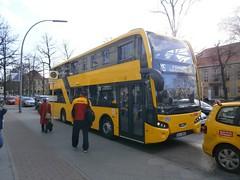 BVG - VDL 3093-1 (Berliner Busse) Tags: bus berlin buses germany busse mb doubledecker bvg doppeldecker zehlendorf vdl gelenkbus farbgebung lowfloor articulatedbus singledecker niederflur lowfloorbus berlinzehlendorf eindecker niederflurwagen mbcitaro bvgbusse mbcitarogelenkbus mbgelenkbus