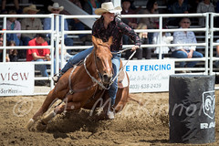 Sundre Pro Rodeo 2015 (tallhuskymike) Tags: horse outdoors event alberta rodeo cowgirl 2015 sundre prorodeo