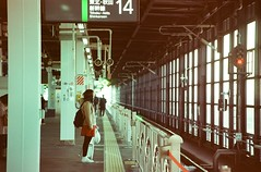 morioka (Jake_Wang) Tags: travel winter people film japan canon railway