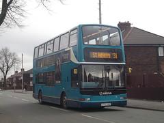Arriva Merseyside (fulton2014) Tags: sthelens parr arriva 4173 arrivamerseyside lf52urg dlp101