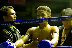 In the zone (girltravel) Tags: sport thailand fight bangkok muaythai inthezone