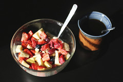 golden spiral (dorthrithil) Tags: food apple coffee canon eos 50mm strawberries banana grapes cereals ef 6d blueberrys