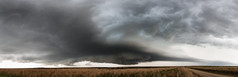 Bellevue Supercell Pano (Kelly DeLay) Tags: panorama storm weather hail texas severeweather stormchasing stormscape supercell texasweather weatherphotography