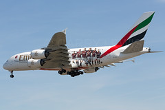 Emirates Airbus A380-800 A6-EET AC Milan (atcogl - ATC @ YYZ) Tags: toronto ontario canada plane airplane flying aircraft aviation uae jet super special emirates airbus a380 ek acmilan approach heavy flugzeug airliner avion pearson yyz widebody a380800 cyyz a388 a6eet