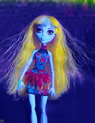 . (Elina-Doll) Tags: blue monster high doll wishes 13 assortment mattel core lagoona