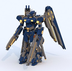 ESIONE Oracle (TF Twitch) Tags: blue fiction classic mobile digital lego designer render space science suit scifi fi gundam armored core sci mecha mech ldd blacktron bluerender