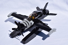 D4DRazortail001 (Dragonov Brick Works) Tags: lego aircraft snot studless miniscale