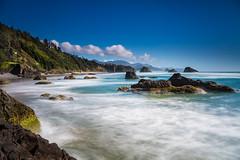 Ecola State Park - Crescent Beach (Kevin Attermeier) Tags: ocean longexposure seascape oregon canon waves outdoor 5d pnw ecolastatepark mkiii 2016 5dmkiii