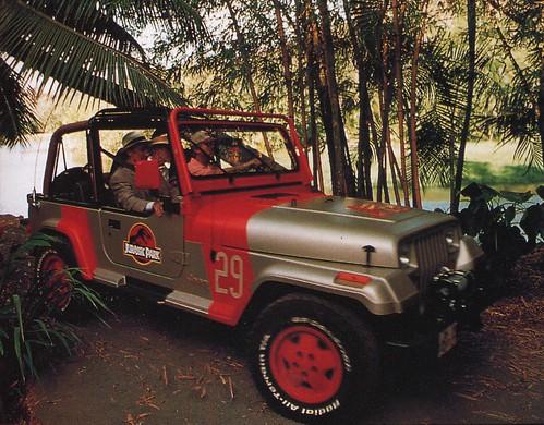 jurassic park 1993 1992 jeep wrangler sahara sand beige for official