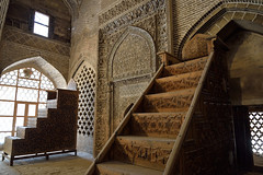 Prayer room 2 (dan & emily) Tags: islam prayer mosque esfahan shiite farsi iranianarchitecture masjidejameh