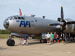160329_02_Fifi (AgentADQ) Tags: plane airplane florida aviation wwii leesburg boeing bomber fifi warbird b29 superfortress