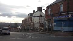 The final days of Dunsmuir Grove, Gateshead. (Buses & Stuff UK) Tags: uk buildings demolition gateshead housing