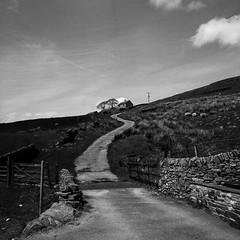 From the archives (ronet) Tags: road trees blackandwhite house film mediumformat peakdistrict lane hasselblad500cm