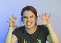 Salvaje (Miguel ngel 13) Tags: wild portrait girl mujer nikon chica retrato estudio piercing gels gel tatto avils ragazza tatuaje geles salvaje ritrato 105macro escueladeartesyoficios nikond800 flashesdecolores escueladeartesyoficiosdeavils