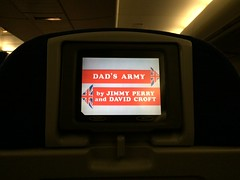 British Airways (stevenbrandist) Tags: travel mexico tv comedy display seat flight entertainment britishairways boeing747 travelogue dadsarmy