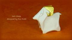 Dall Sheep by Rui Roda (Thomas Krapf Origami) Tags: paper origami sheep papier paperfolding roda dall rui schaf ovisdalli papierfalten dallschaf ruiroda