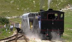 Dampfbahn Furka Bergstrecke 2009 (Schweiz) (hrs51) Tags: train switzerland steam historical 2009 steamtrain dampflokomotive dampf furka dfb tiefenbach gletsch museumsbahn dampfbahn realp furkabergstrecke