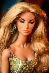 Angelica (astramaore) Tags: people beauty fashion toy glamour doll tan natalia 16 earrings chic royalty brazen tanned dollphotography integritytoys astramaore