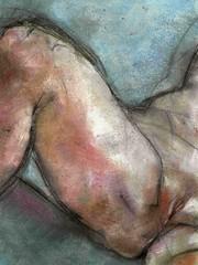 under the hidden bridge (no resemblance ll) (judafuta) Tags: bridge woman sexy art female naked nude erotic under pussy drawings hidden pastels vagina