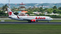 PK-LOR - Lion Airlines - Boeing 737-8GP (bcavpics) Tags: bali plane indonesia airplane aircraft aviation boeing airliner 737 denpasar dps ngurahrai 738 wadd lionairlines bcpics pklor